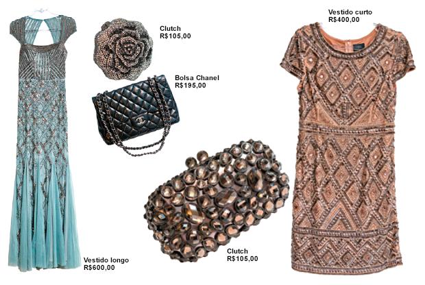 ec96304a3 O preço do aluguel de bolsas e vestidos varia entre R$ 50 e R$ 750. Em  média, a empresária consegue locar 40 peças por mês.